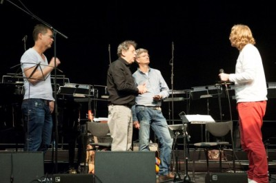 Foto Philip Glass en Fokko